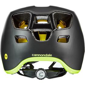 Cannondale Hunter MIPS Casco, black/volt